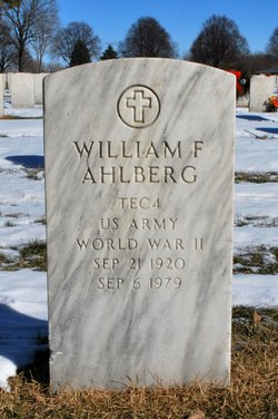 William F Ahlberg