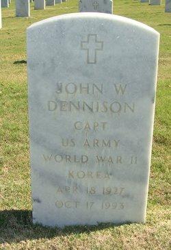 John W Dennison