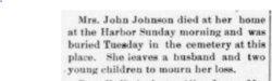 Josephine <I>Helander</I> Johnson