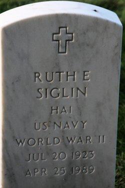 Ruth E Siglin