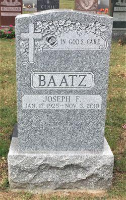 Joseph F. Baatz, Sr.