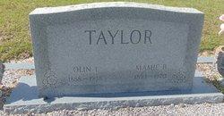 Olin Issac Taylor