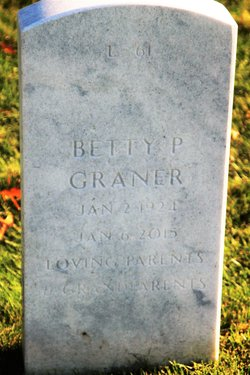 Betty Jane <I>Pepkie</I> Graner