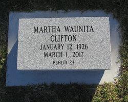 Martha Waunita Clifton