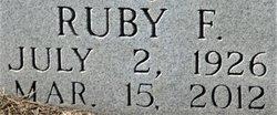 Ruby F. <I>Dozier</I> Smith