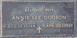 Annie Lee Dodson