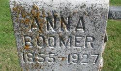 Anna <I>Cumberland</I> Boomer