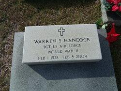 Sgt Warren S Hancock