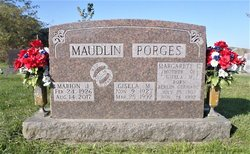 Gisela Margarete <I>Porges</I> Maudlin