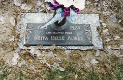 Reita Belle <I>Kelly</I> Alwes