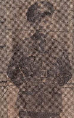 Pvt Edward Ruben Morris