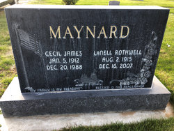 Cecil James Maynard