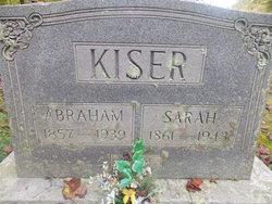 Sarah A. <I>Sutherland</I> Kiser