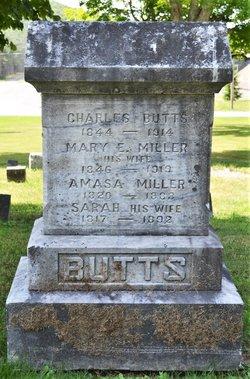 Mary E <I>Miller</I> Butts