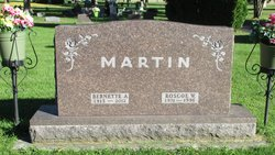 Bernette A <I>Schuette</I> Martin