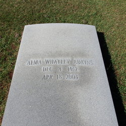 Alma <I>Whatley</I> Adkins