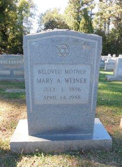 Mary A Weiner