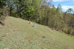 Keene Family Cemetery .