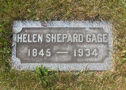 Helen <I>Shepard</I> Gage