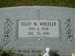 Tally W. Wheeler