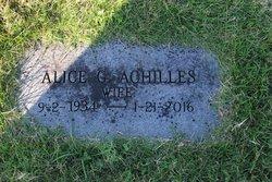 Alice G Achilles