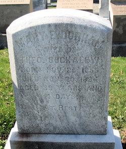 Mary E. <I>Durham</I> Buckalew