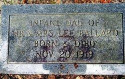 Infant Daughter Ballard