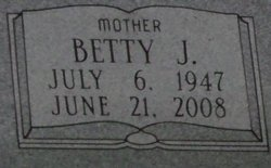 Betty June <I>Hilburn</I> Vaughan