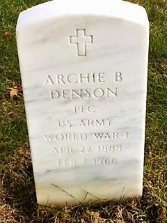 Archie B Denson