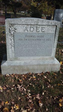 "Josephine A. ""Josie"" <I>Fuller</I> Adee"