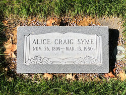 Alice Elizabeth Syme