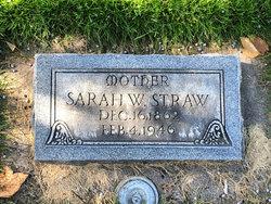 Sarah Whitehead Straw