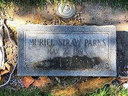 Muriel <I>Straw</I> Parks