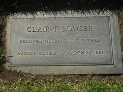 Clair T Bowser
