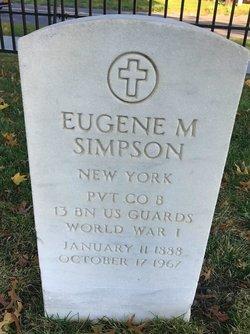 Eugene M Simpson