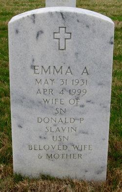 Emma A Slavin