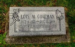 Lois M Coleman