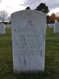 Joe Alderete, Jr