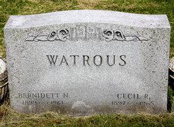 Cecil Raymond Watrous