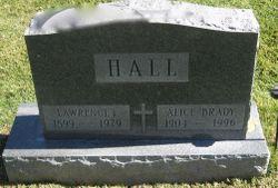 Alice J <I>Brady</I> Hall