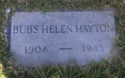 Helen Maude <I>Gifford</I> Hayton