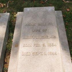 Anne <I>Miller</I> Moreland
