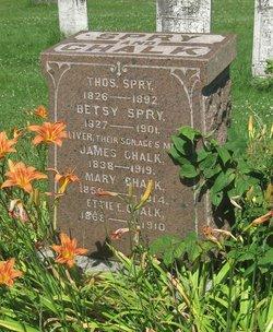 Mary <I>Spry</I> Chalk