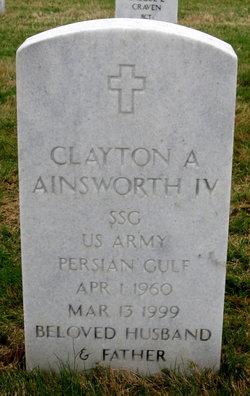 Clayton A Ainsworth, IV
