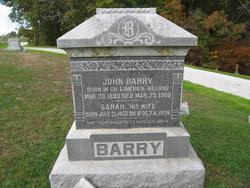 Sarah <I>Aiken</I> Barry