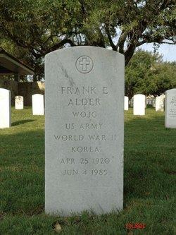 Frank E Alder