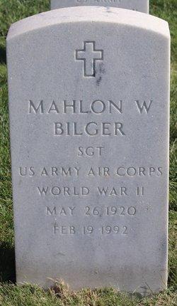 Mahlon W Bilger