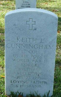 LTC Keith L Cunningham