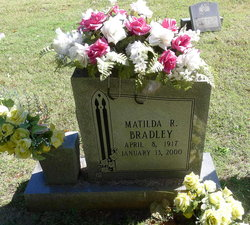 Matilda Rebecca <I>Peebles</I> Bradley