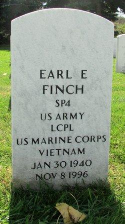LCPL Earl E Finch